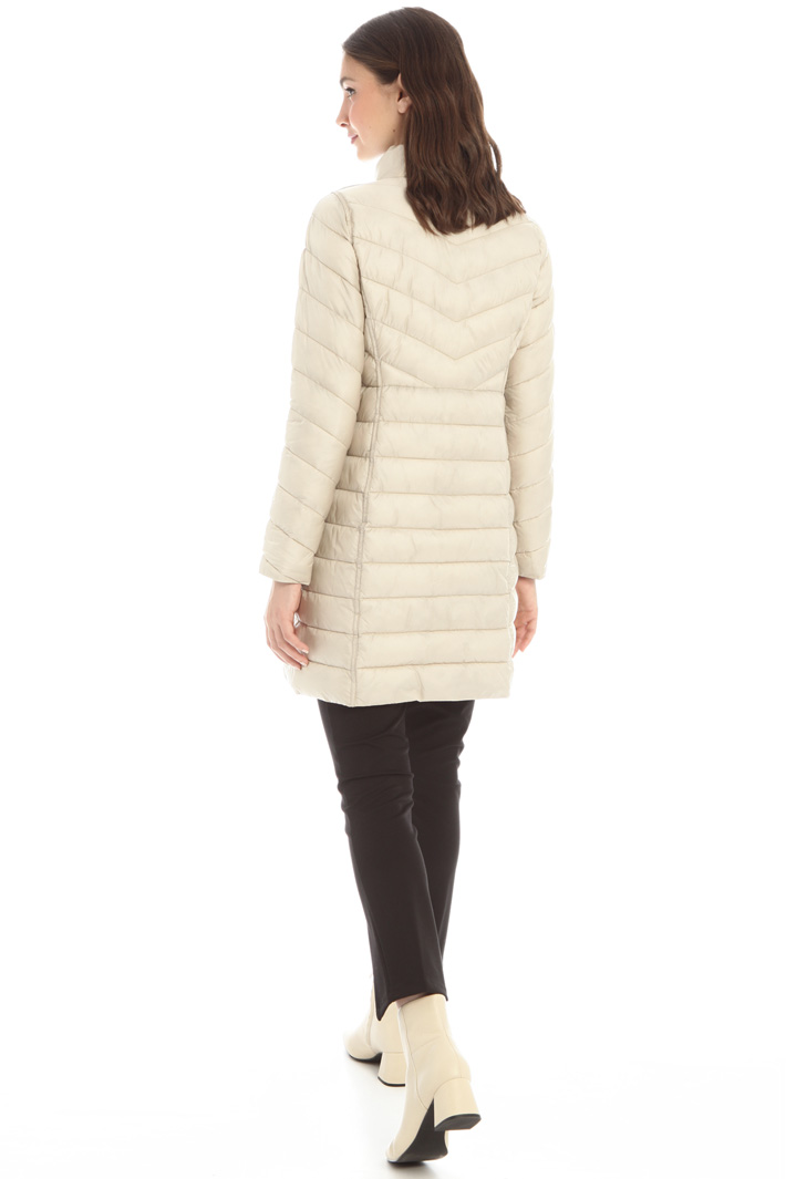 Long reversible padded coat Intrend