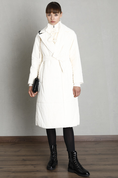 Long padded down coat Intrend
