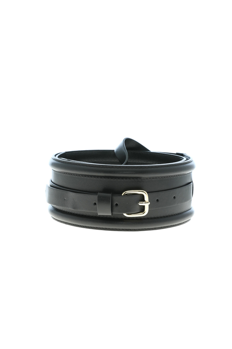 High leather belt Intrend