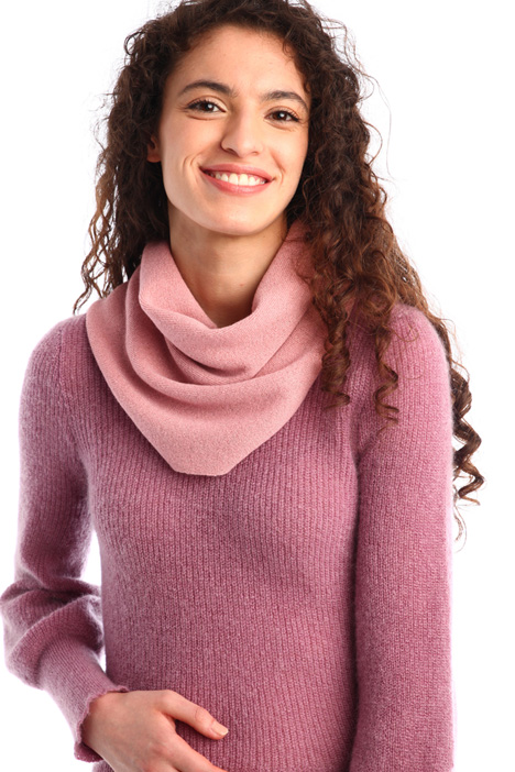 Wool and cashmere collar Intrend
