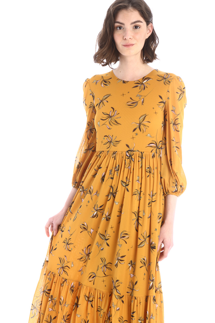 Long patterned dress Intrend