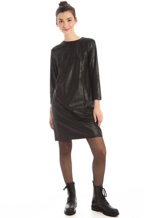 Croc print dress Intrend