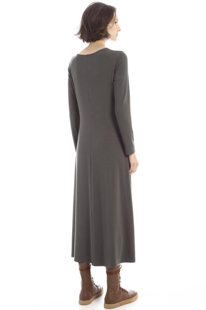 Long jersey dress Intrend