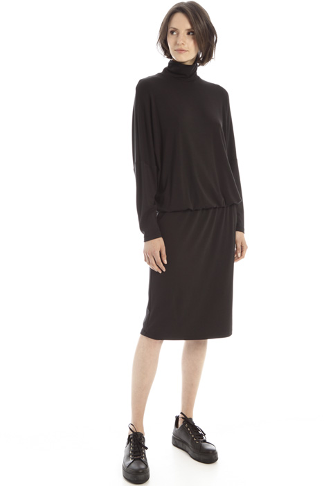 Relaxed fit jersey dress Intrend
