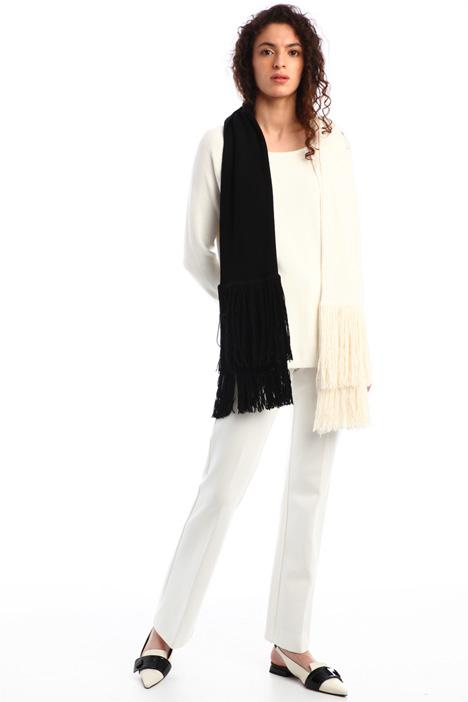 Sciarpa bicolor in lana Intrend