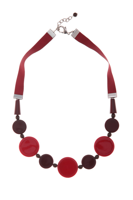 Necklace with spheres Intrend