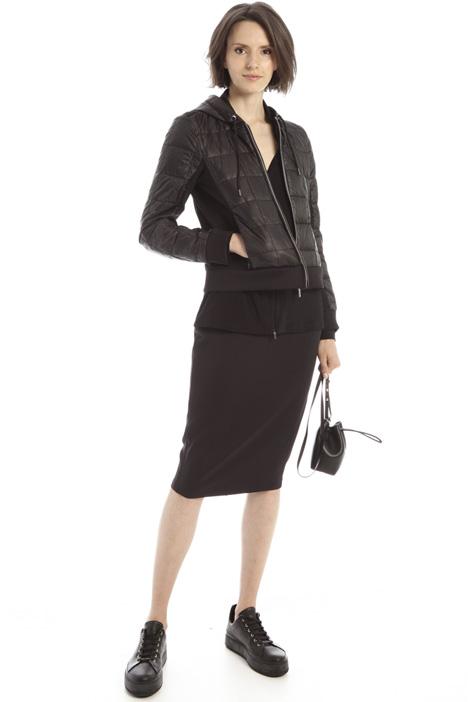 Zip-detailed pencil skirt Intrend