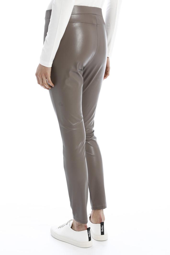 Leggings in coated fabric Intrend