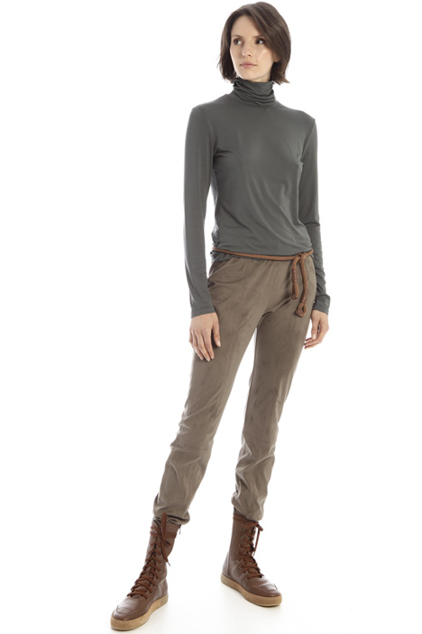 Suede effect jeggings Intrend