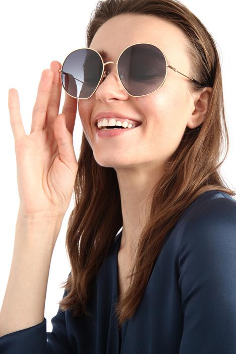 Round oversized sunglasses Intrend
