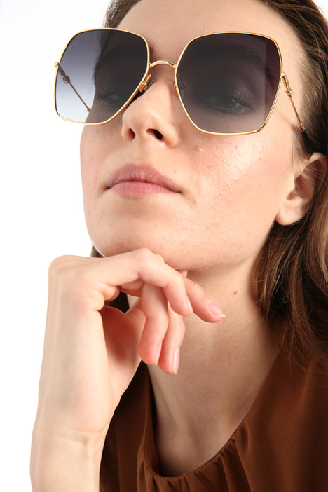 Oversized square sunglasses Intrend