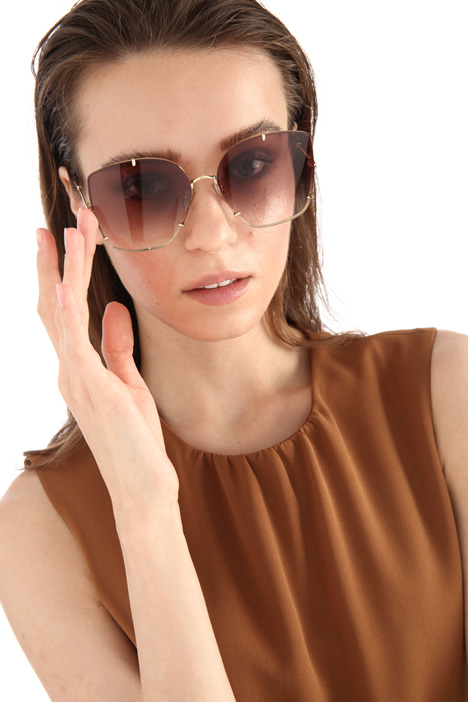 Thin frame sunglasses Intrend