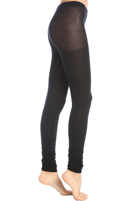 Cotton and cashmere leggings Intrend