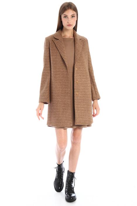 Cappotto in maglia di lana Intrend