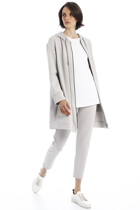 Oversized compact sweatshirt Intrend