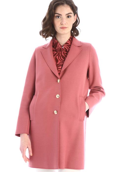 Cappotto in jersey di lana Intrend
