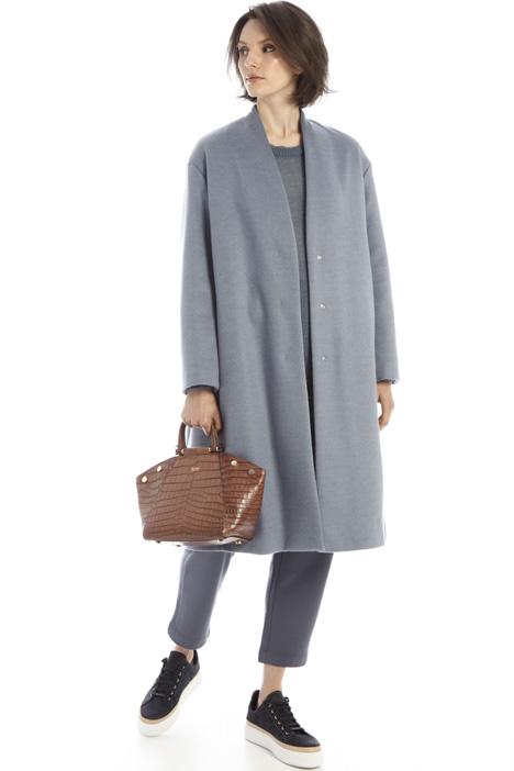 Giaccone over in drap di lana Intrend