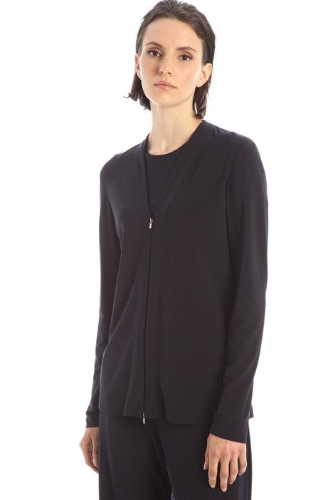 V-neck sweatshirt Intrend