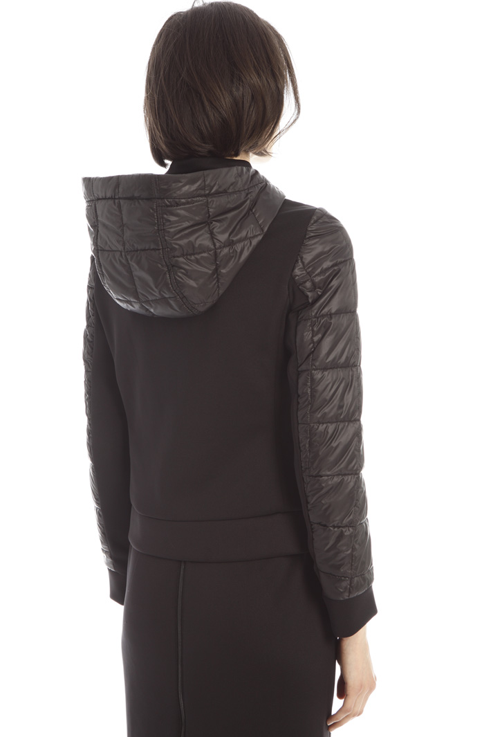 Double fabric puffer coat Intrend