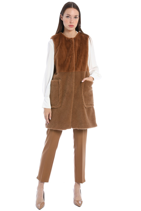 Vest with pockets Intrend