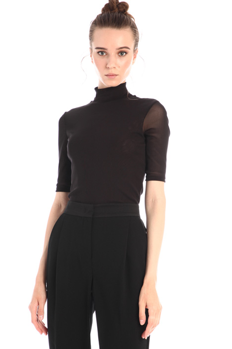 Stretch tulle top Intrend