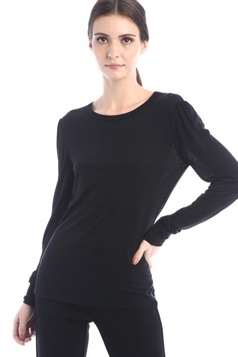 Wool jersey T-shirt Intrend