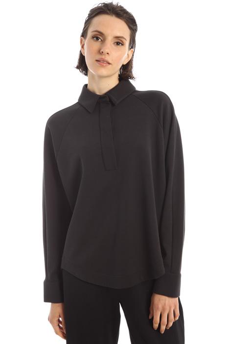 Polo-style sweatshirt Intrend