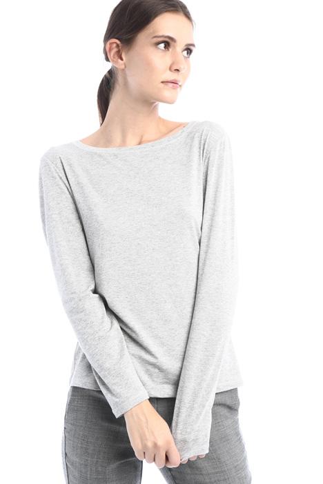 Lurex jersey T-shirt Intrend