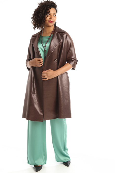 Laminated twill duster coat  Intrend