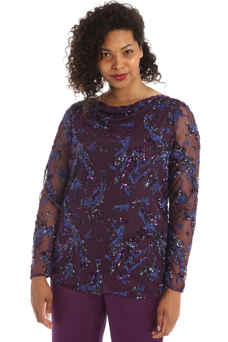 Tulle and sequinned tunic Intrend