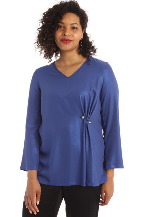 Shiny cady blouse Intrend
