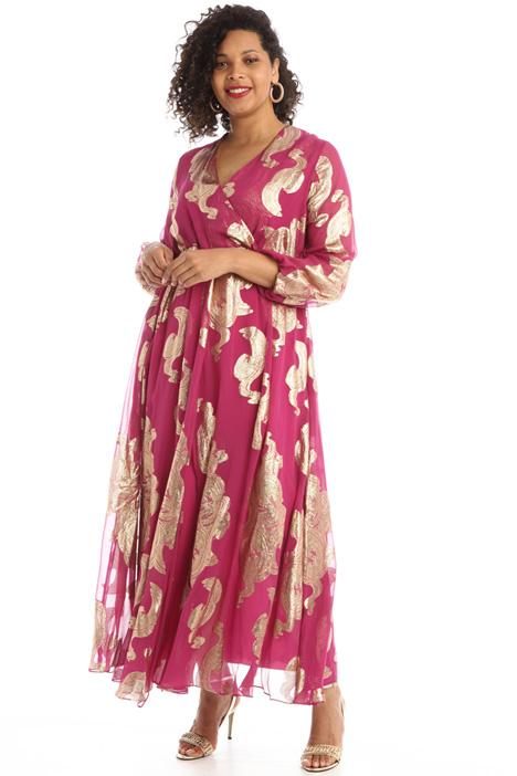 Silk voile blend dress Intrend
