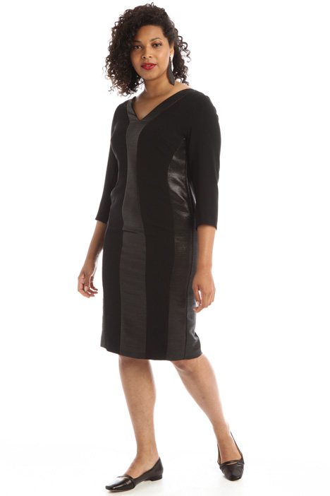 Cady and twill dress Intrend
