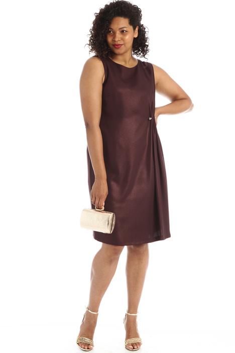 Shiny cady dress Intrend