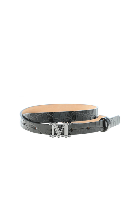 Crocodile print belt Intrend