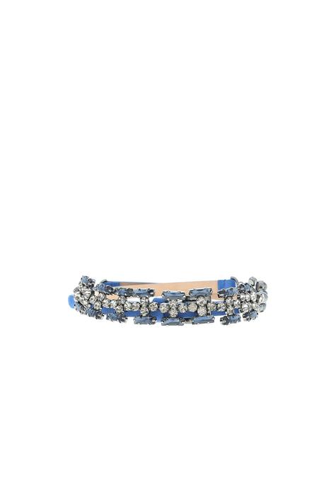 Jewel-detailed belt Intrend