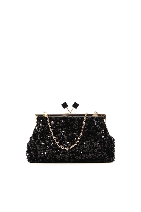 Sequinned clutch Intrend