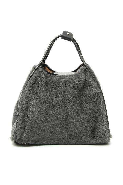 Alpaca, wool and silk shopper bag Intrend