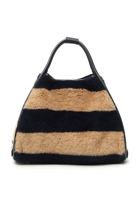 Shopper in alpaca, lana e seta Intrend