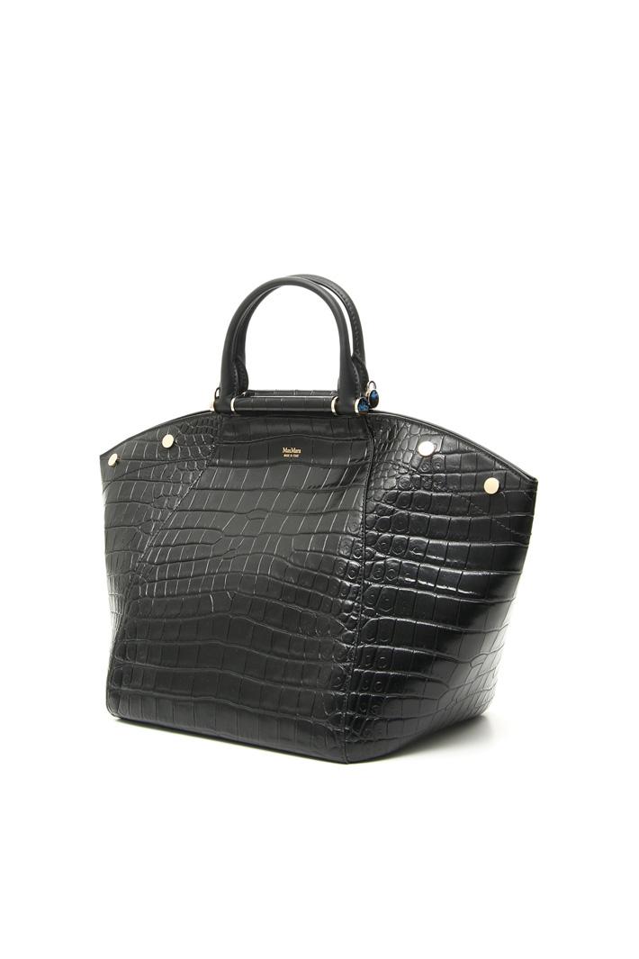 Crocodile-print shopper bag Intrend