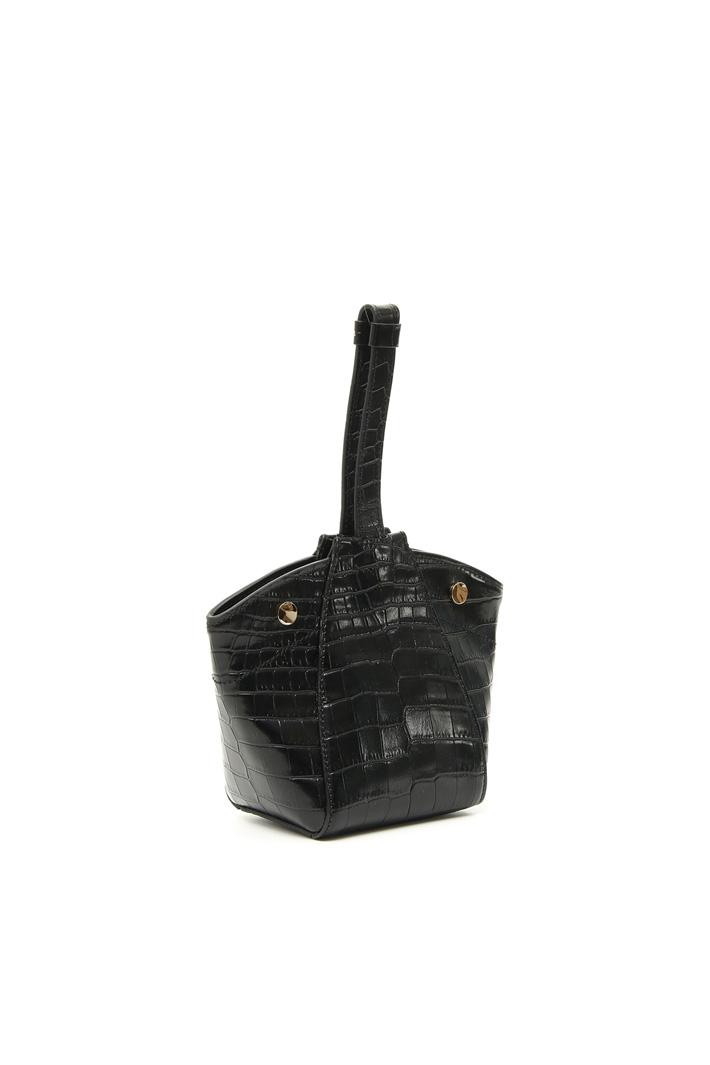 Crocodile-print leather bag Intrend