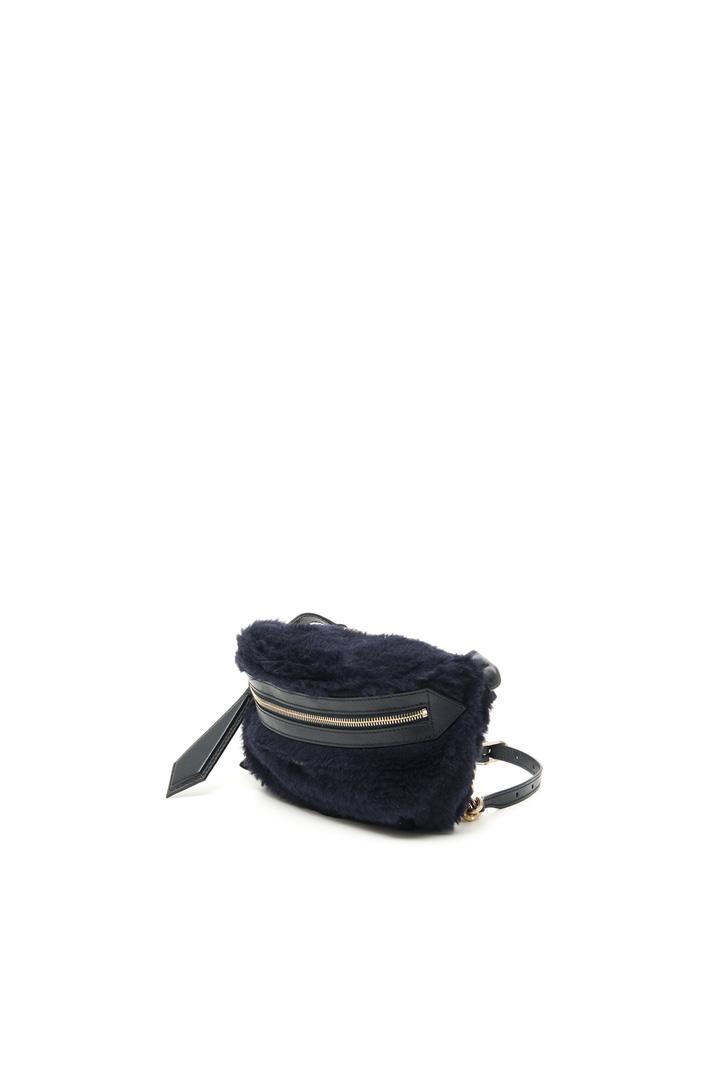 Fur-effect belt bag Intrend