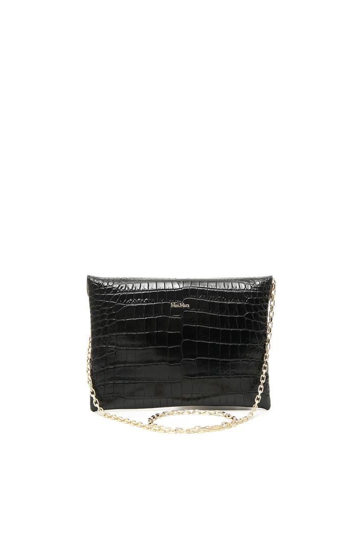 Croc leather envelope bag Intrend