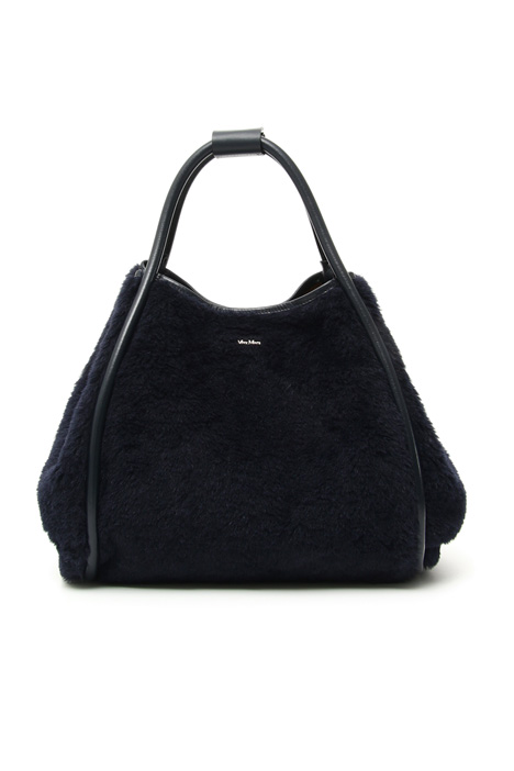Fur effect shopper bag Intrend