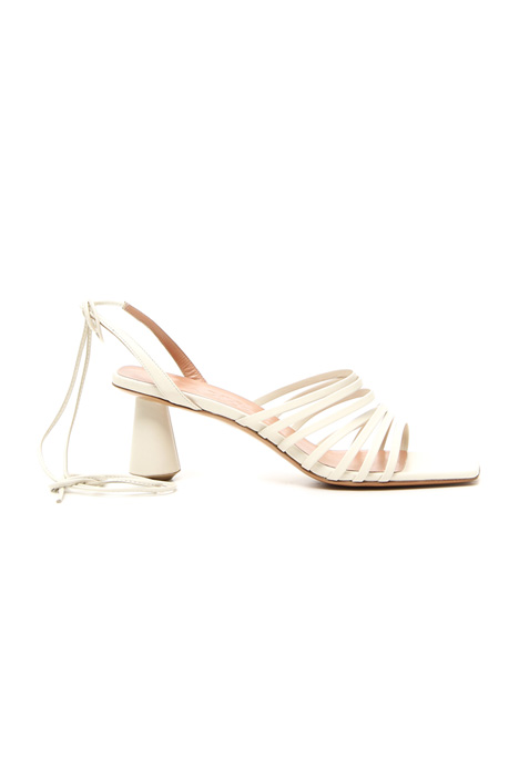 Leather strap sandals Intrend