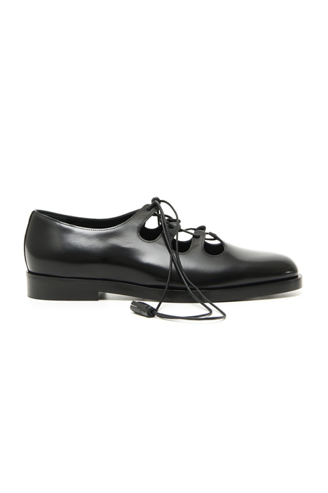 Leather lace-ups Intrend