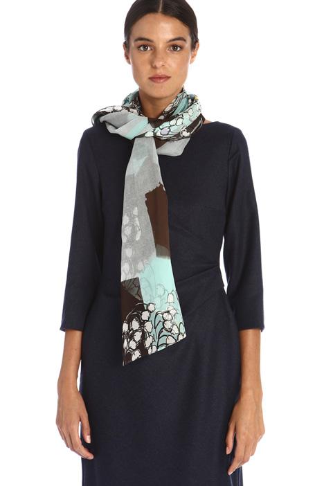 Silk georgette foulard Intrend