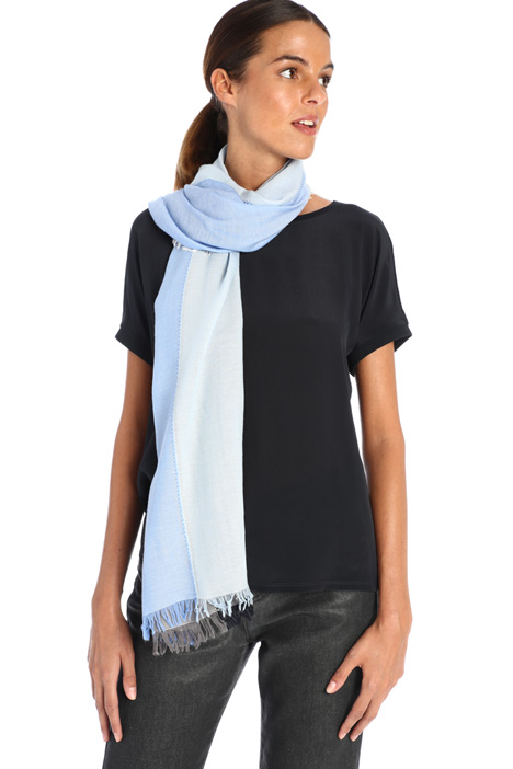 Patchwork effect scarf Intrend