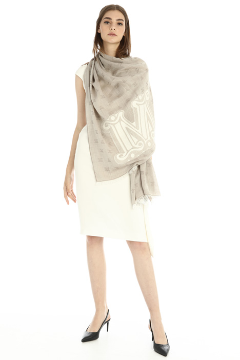 Wool and silk stole Intrend