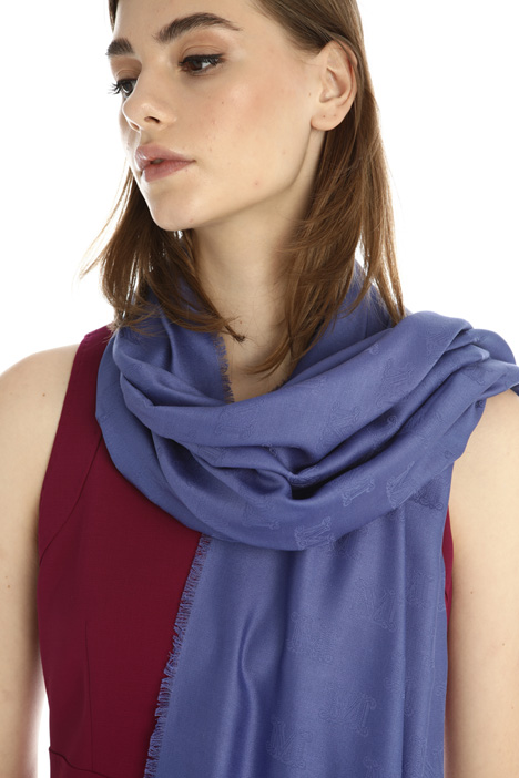 Cotton and silk stole Intrend